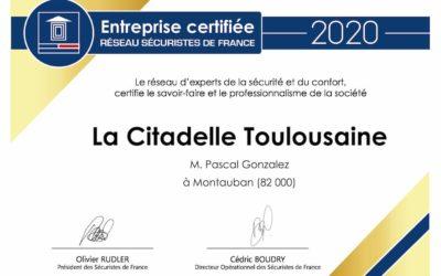 Certification 2020 Sécuristes de France
